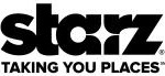 Starz logo (taking you places)