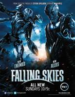 Comic-Con: Falling Skies Press Room (Audio) Interviews with the Cast