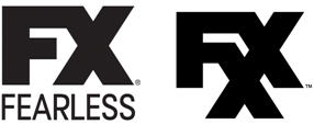 FX and FXX logo combo