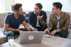 A scene from the season premiere of new docu-series Online Dating Rituals of the American Male
