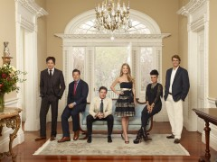 "SOUTHERN CHARM -- Season:1 -- Pictured: Witney Sudler-Smith, Thomas Ravenel, Craig Conover, Cameran Eubanks, Jenna Lee King, William Shepherd ""Shep"" Rose III"