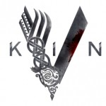 Vikings bw blood logo