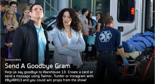 Warehouse 13 - Say Goodbye Gram