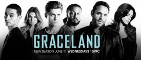 TV Promo: Graceland Returns for an Exciting Second Season