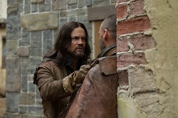 John Alden doesn't take kindly to threats or staring contests when he crosses paths with an old familiar friend.