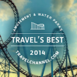 "TravelChannel .com Names Top 10 ""Travel's Best: Amusement Parks and Water Parks"" of 2014"