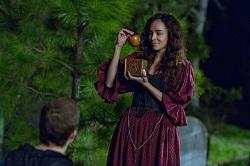 Tituba shows Mercy some forbidden fruit!