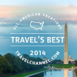 TravelChannel .com Names Top 10 <i>Travel's Best: All-American Vacations</i> of 2014