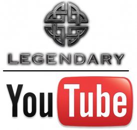 Legendary Pictures and You Tube logo combo