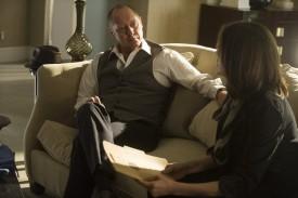 Reddington and Keen having a moment.