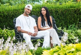 (L to R) Anthony Grant (Damon Dash) and Alexandra Shipp (Aaliiyah) star in the all-new Lifetime Original Movie, Aaliyah: The Princess of R&B.