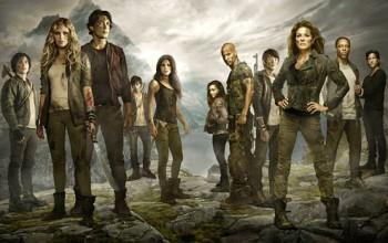 CW The 100 - S2 Cast Key Art