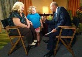 Mama June, Honey Boo Boo, and Dr. Phil.