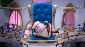 Santa taking a break.