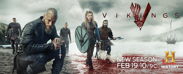Vikings S2 Key Art banner