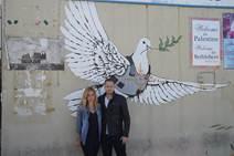 Breaking Borders hosts - Mariana van Zeller and Michael Voltaggio
