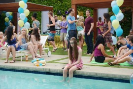 Pool parties are the best for a 14-year-old, right?