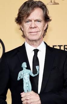 William H. Macy accepts his SAG Award for Best Actor in a Comedy Series.
