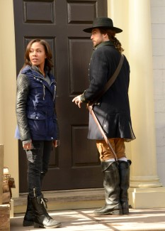 Ichabod of the past doesn't fully believe Abbie of the future yet, but he soon will.