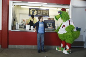 The Phillies Phanatic