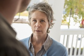 I can't even imagine what Carol is thinking. She's probably trying to make his head explode with her mind.