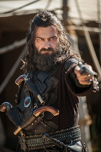 Black Sails - S3 - Blackbeard (Ray Stevenson)