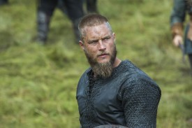 The typically quiet Ragnar shows his emotions and speaks his mind much more in this episode.
