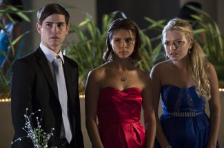 Eddie, Cathy, and Ellen watch their prom unravel.