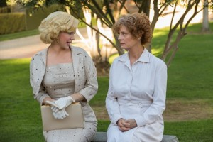 Kelli Garner as Marilyn and Susan Sarandon as Gladys. Photo by Danny Feld.