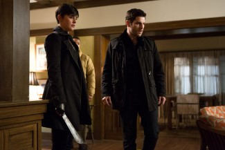 I'm glad Trubel is back because Nick is going to need all the Grimm help he can get now this his mother is gone.