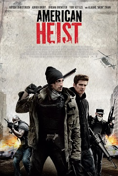 American Heist movie Key Art