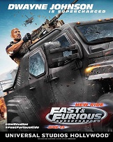 Video: FIRST LOOK! Dwayne Johnson As Luke Hobbs In New Thrill Ride Fast & Furious Supercharged