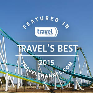 Travel's Best Amusement and Water Parks for 2015 Seal