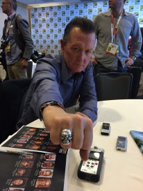 Patrick reveals he may have redeemed himself with Walter while showing us his Terminator ring.