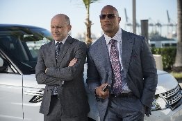Rob Corddry, Dwayne Johnson in Episode 3 of Ballers. Photo: Jeff Daly/courtesy of HBO