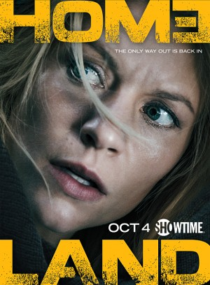 Claire Danes as Carrie Mathison in Homeland (Season 5, Key Art). - Photo: Jim Fiscus/SHOWTIME - Photo ID: HomelandS5_keyart_01.R