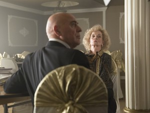 With Ivan and Mrs. Minassian (Grace Zabriskie) looking at me like that, I'd be scared too.