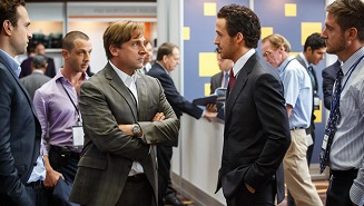 Steve Carell plays Mark Baum and Ryan Gosling plays Jared Vennett in THE BIG SHORT from Paramount Pictures and Regency Enterprises Photo credit: Jaap Buitendijk © 2015 PARAMOUNT PICTURES. ALL RIGHTS RESERVED.