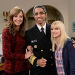 Allison Janney, Dr. Vivek H. Murthy, and Anna Faris in a CBS Cares PSA on addiction