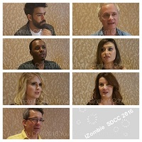 VIDEO: Interviews at San Diego Comic-Con – iZOMBIE