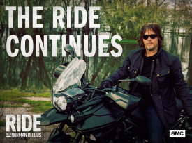 AMC Renews Travel Docu-Series Ride with Norman Reedus Featuring Star of The Walking Dead for 2nd Season