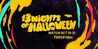 TV News: Get Ready For A Spell-Tacular Halloween with Freeform's 13 NIGHTS OF HALLOWEEN Oct 19-31