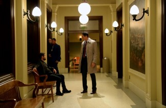 Oh Meisner, you can't leave... Renard needs you to be the voice of reason -- (Photo by: Allyson Riggs/NBC)