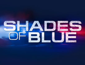"SHADES OF BLUE -- Pictured: ""Shades of Blue"" logo -- (Photo by: NBCUniversal)"