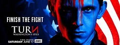 TV News and Key Art: AMC's Revolutionary War Drama TURN: Washington's Spies Returns for its Fourth and Final Season June 17